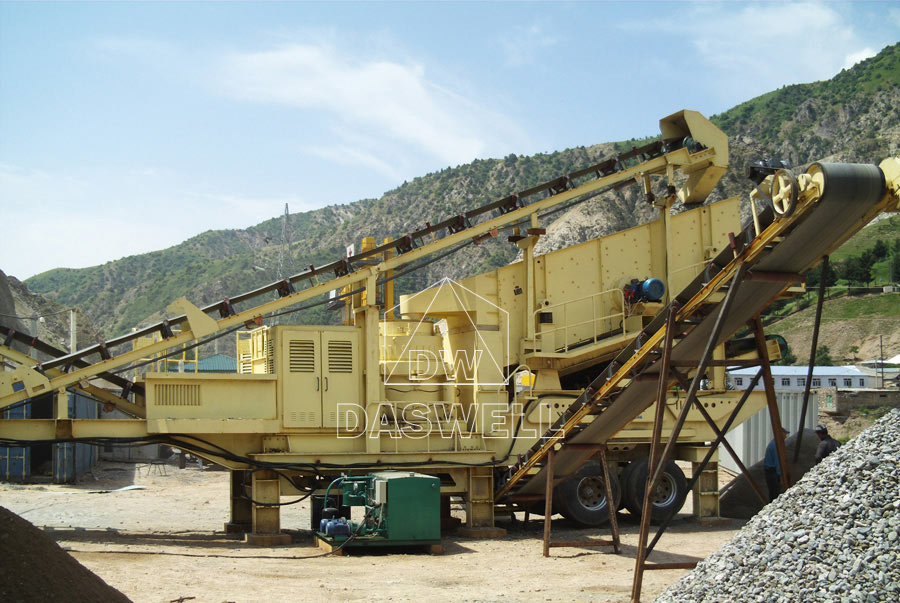 daswell mobile crusher machine