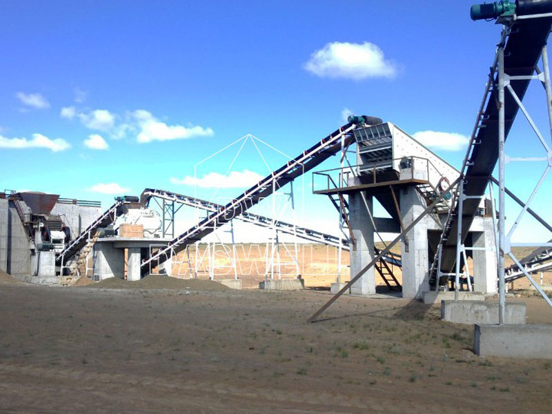 wide application of aggregate crushing plant for sale