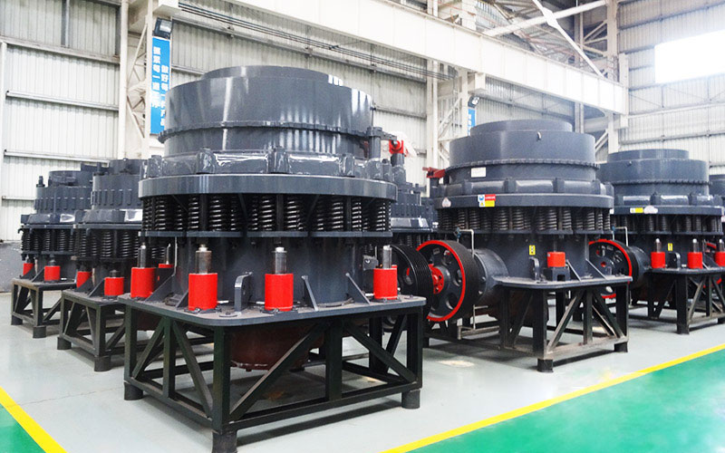 different types and models of cone crusher