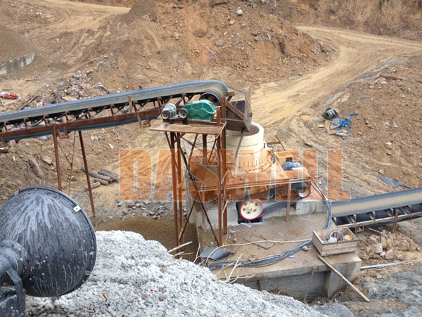 wide application of cone rock crusher