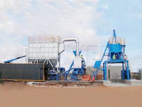 MADP-40 asphalt batch mix plant