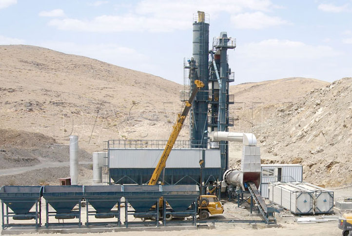 daswell asphalt mixing plant philippines