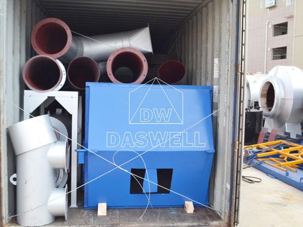 transport the mobile asphalt batch mix plant