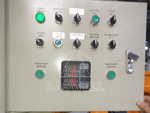 DHBT40 concrete mixer and pump for sale