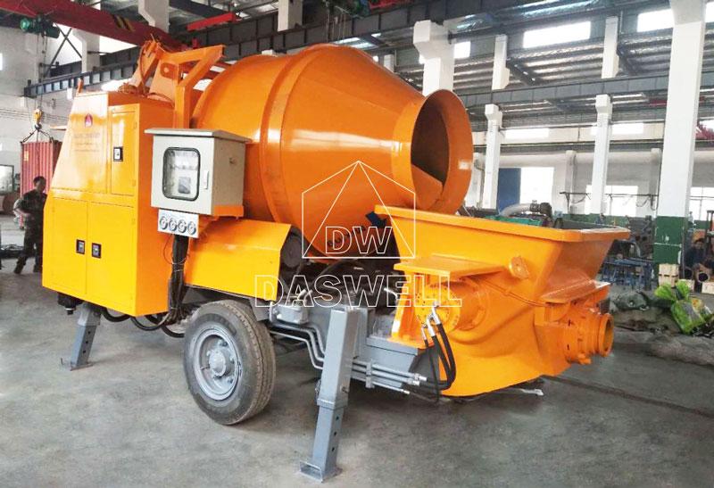 DHBT40 diesel mixer pump machine