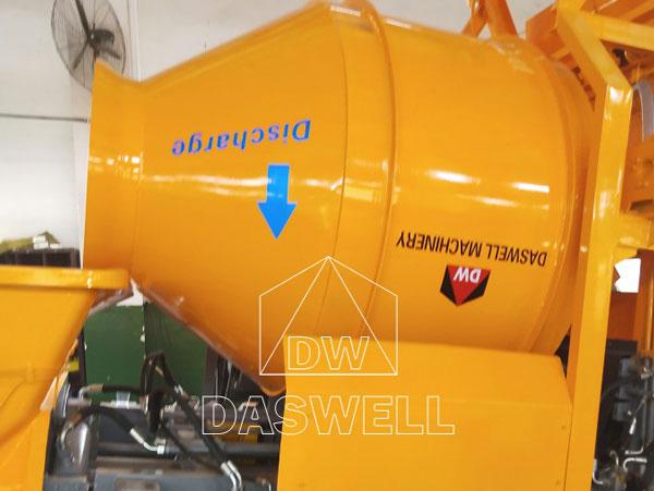DHBT40 diesel mixer pump to Maldives