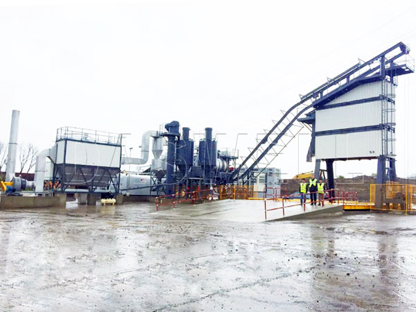 MAPY series small asphalt mixing plant