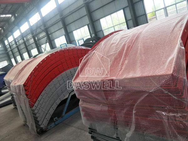 YHZS100 mobile batch plant thailand