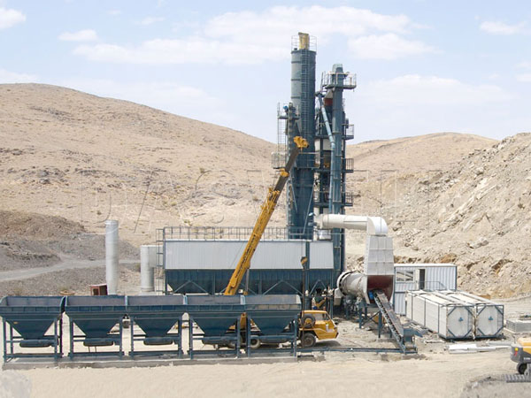 the SAP2000 forced mix type plant