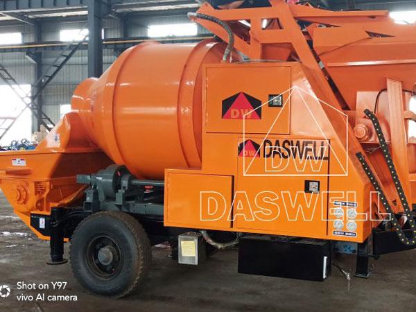 DHBT40 mixer pump in warehouse in Philippines