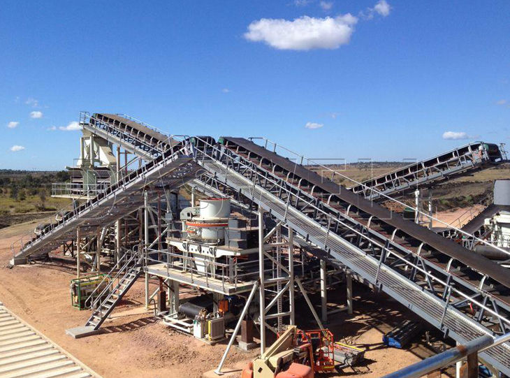 Daswell crushing production line for sale