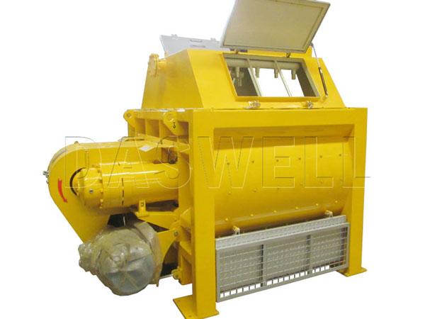 JS1000 twin shaft batch mixer