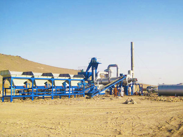 MADP60 stationary drum mix plant