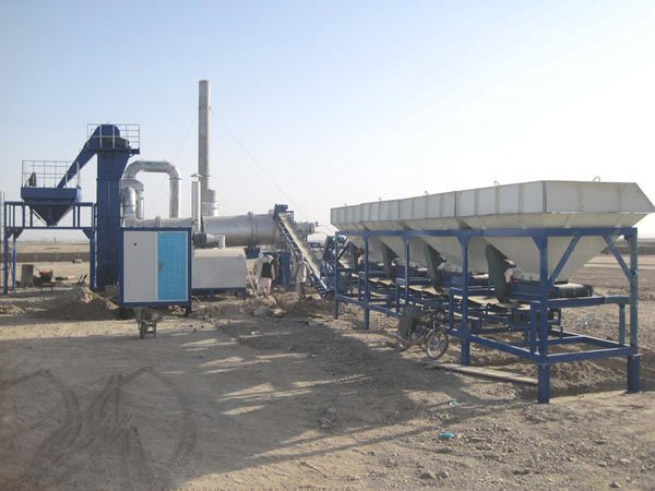 MADP60 stationary drum plant