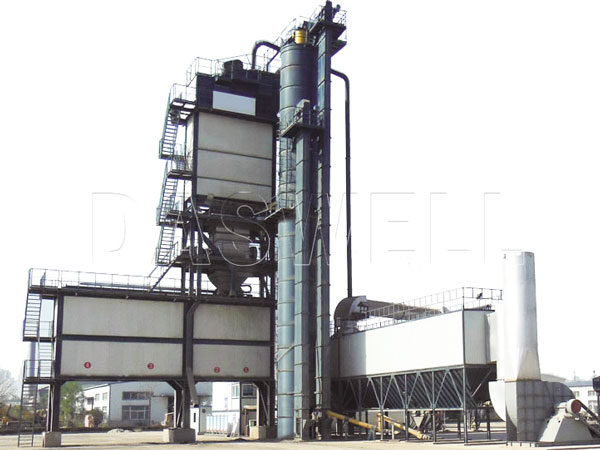 SAP1500 stationary asphalt plant
