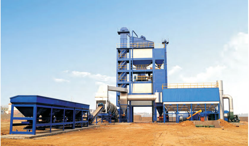SAP3000 stationary asphalt mixing plant