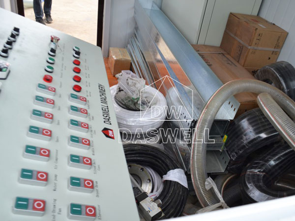 transport the stationary asphalt batching mix plant