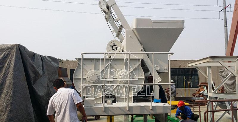 JS500 concrete mixer machine