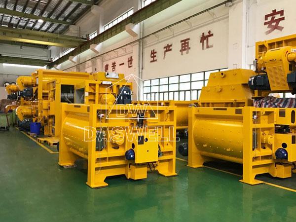 MAO models SICOMA twin shaft mixer