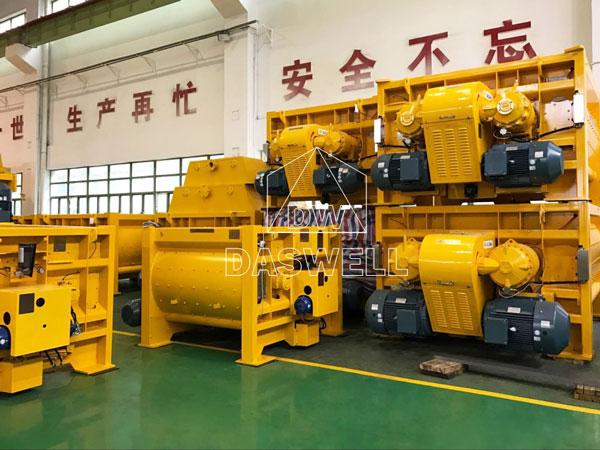 MAO series SICOMA twin shaft mixer