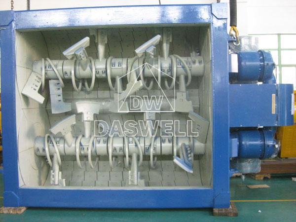MSO small series concrete mixer