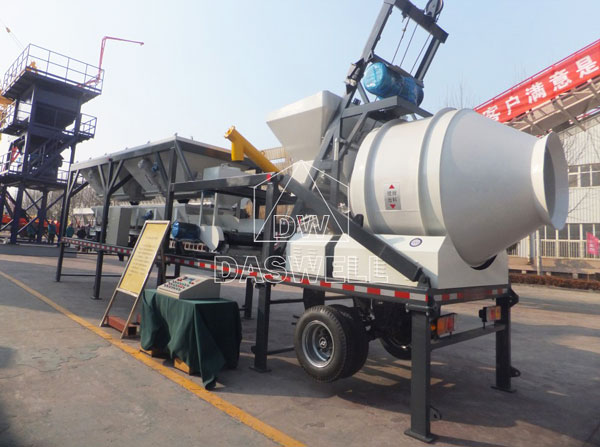 YHZS25A mobile mix plant