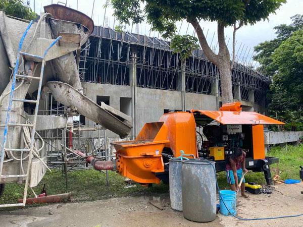 CPD40 mobile concrete pump for sale philippines