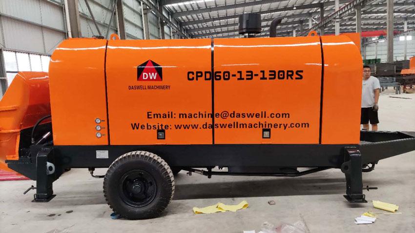 CPD60 diesel engine mobile pump