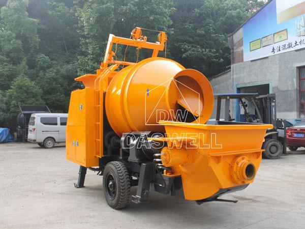 HBT40 concrete pump mixer