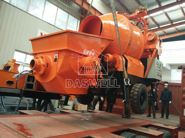 HBT30 concrete mixer pump for sale