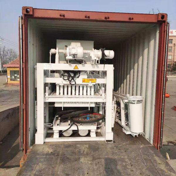 QTJ4-25 bricks making machine pakistan