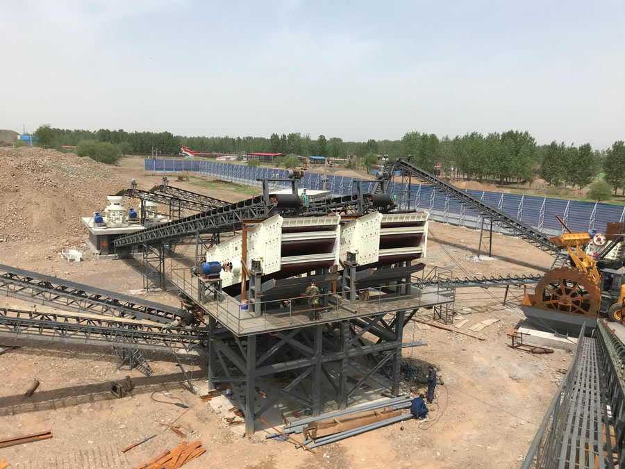aggregate plant works in China