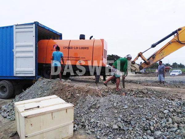 CPD60 trailer pumping machine