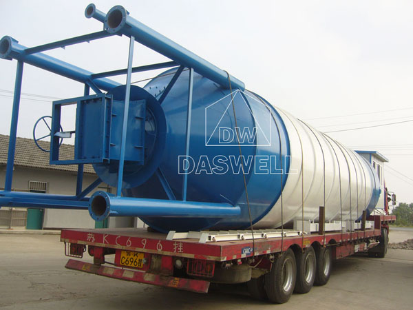 transport the cement silo