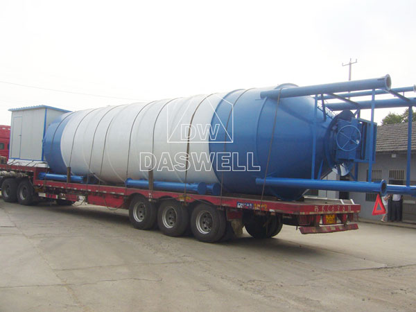 transport the silo
