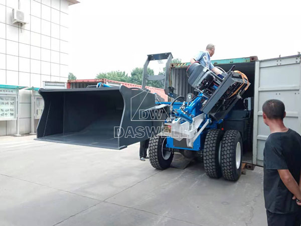 3.5m3 self loading mixer machine