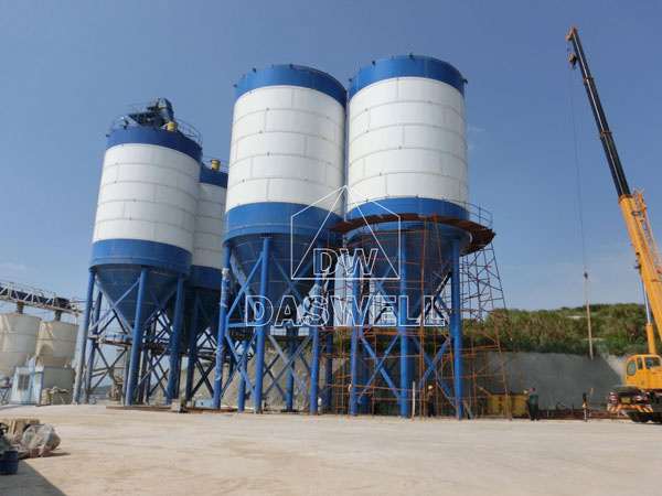 application of bolted silo