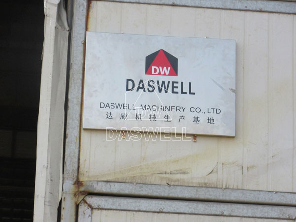 daswell cement silo producing workshop