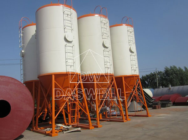 daswell finished silo