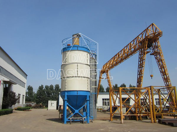 the bolted storage silo