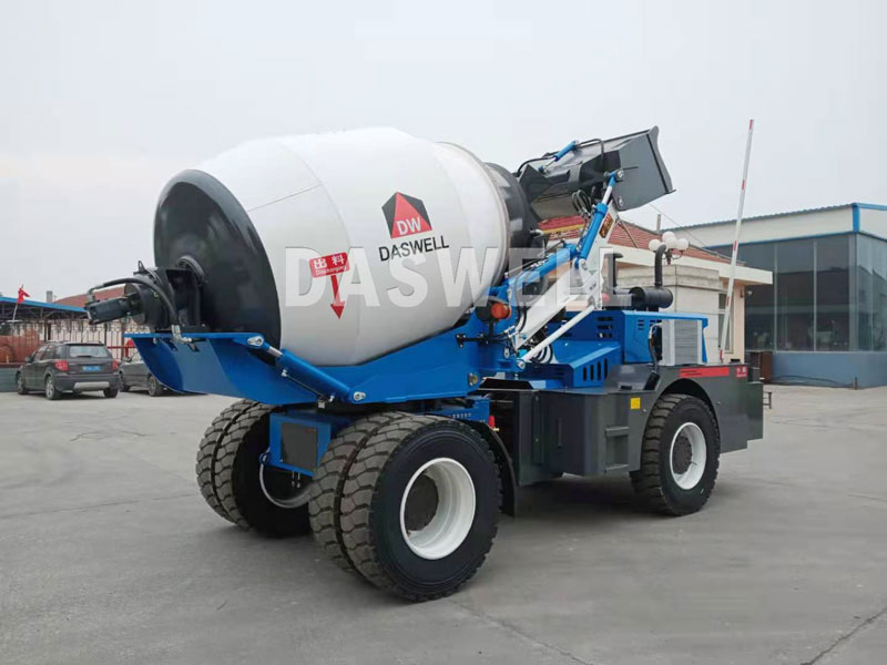 the daswell loading mixer
