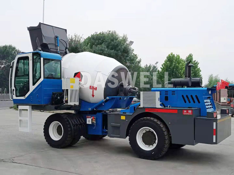 the new self loading mixer