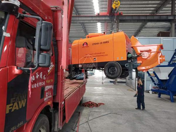 CPD40 trailer cement pump