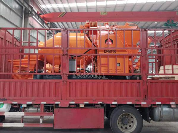 DHBT50 concrete mixing pumping