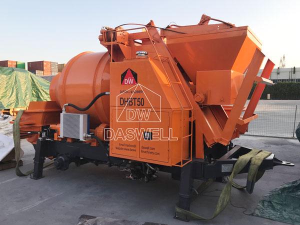 DHBT50 mixing concrete pump