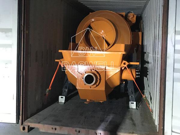 DHBT50 mixing concrete pumping machine