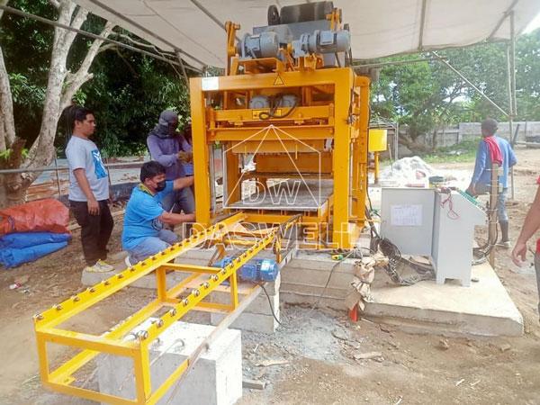QTJ4-26 brick machine sales