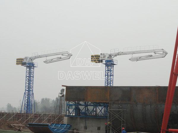 15m hydraulic boom