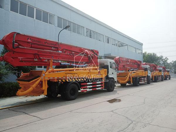 30m pump truck machine