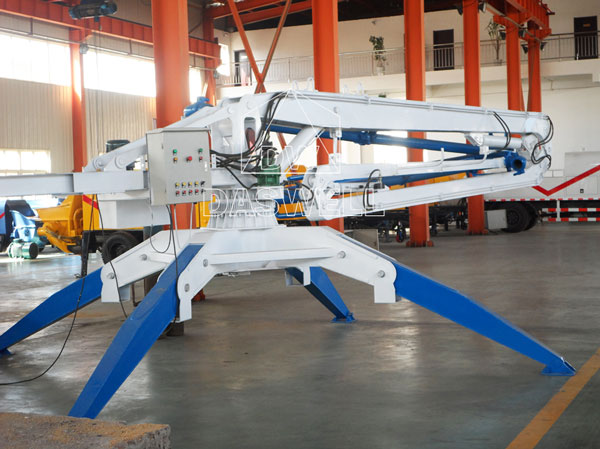 HGY13 mobile placing boom